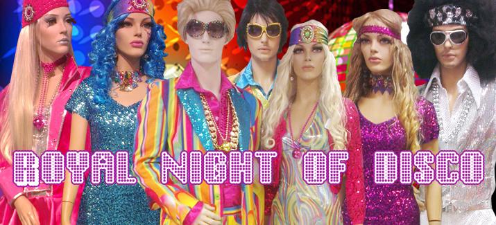 kleding disco tijd
