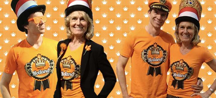 Oranje / Koningsdag kleding