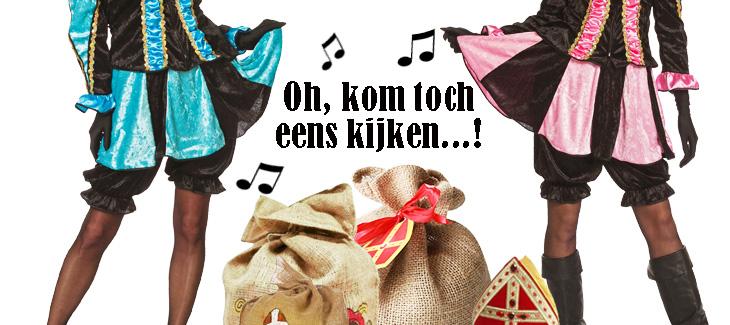 Sinterklaas kleding & Pietenpakken