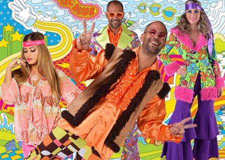 Jaren 70 Hippie