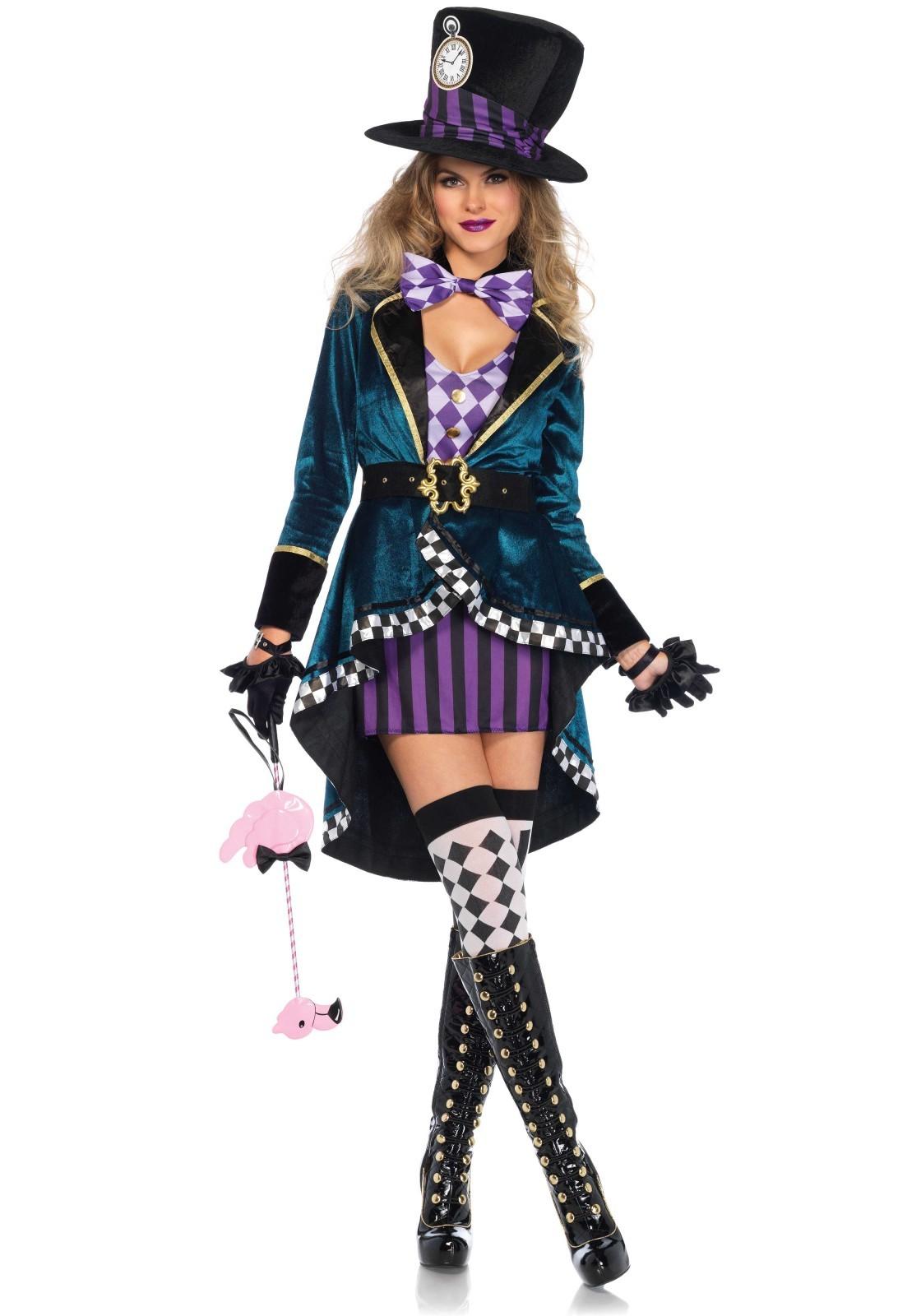 Mad Hatter kostuum dames leg avenue