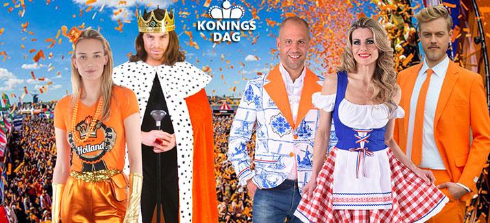 Koningsdag kleding en oranje kleding