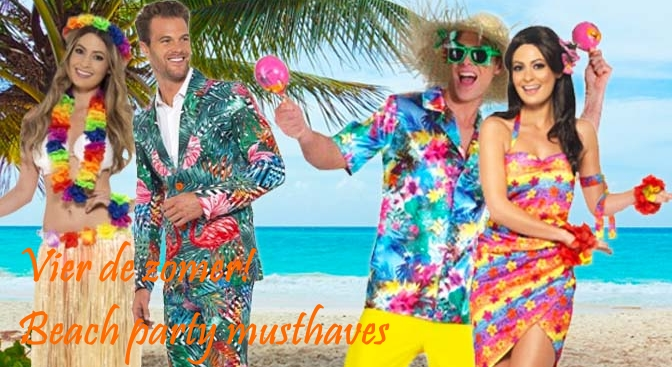 hawaii beach party kleding